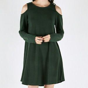 *NEW* Cold shoulder dress