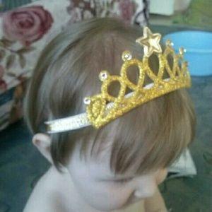 Other - Princess's crown baby headband
