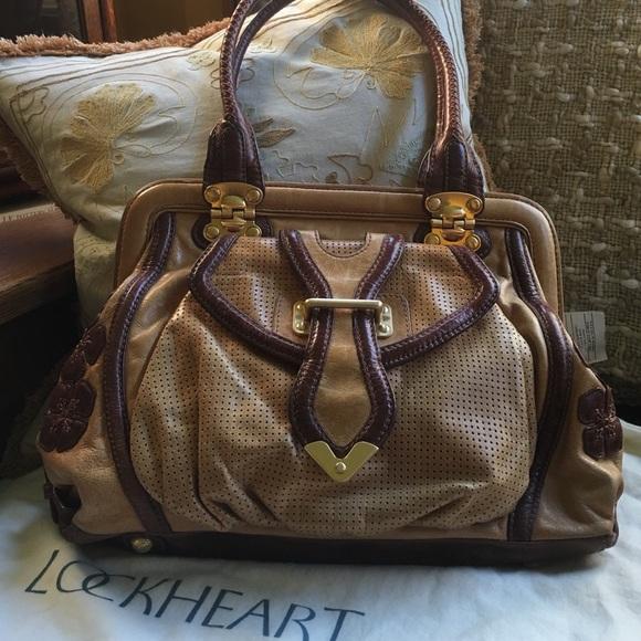 Lockheart Handbags - LOCKHEART Vintage-Style Frame Shoulder Handbag 0a68f73548956