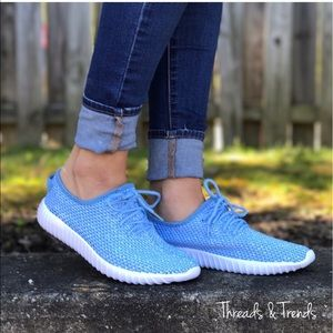 Threads & Trends Shoes - Fly Knit Mesh Sneakers