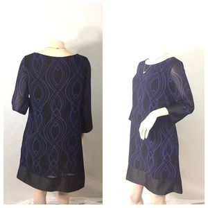 limited edition  Dresses & Skirts - Dark blue&black Limited Edition size medium dress