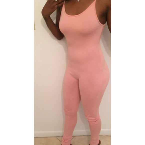 38% off Fashion Nova Pants - Blush Pink Jumpsuit from Sammy's ...