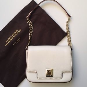 Authentic Kate Spade mini bag in white color