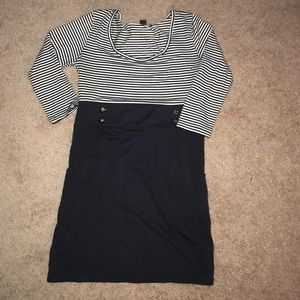 Forever twenty one nautical dress with pockets