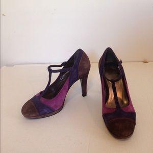 Boden Shoes - Boden purple& plum heels size 38/8