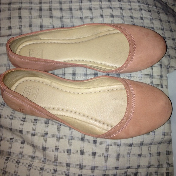 Frye scarpe   Carson Ballet Flats Dusty Size Rose Size Dusty 75 M   Poshmark 5e54bd