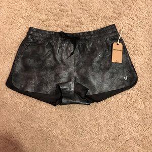 True Religion Pants - True Religion Leather Shorts