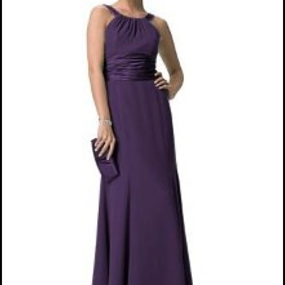 6c4eb6d22c5 David s Bridal Dresses   Skirts - Davids bridal bridesmaid dress plum f12732  size 2