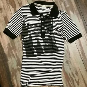 Paul Frank Tops - VINTAGE Paul Frank ANDY WARHOL Punk Rock Polo