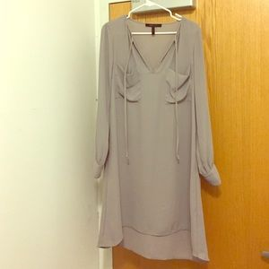 BCBG Maxazria grey tunic dress - size M