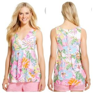 Lilly Pulitzer for Target Tops - EUC- Lilly Pulitzer for Target V-neck top