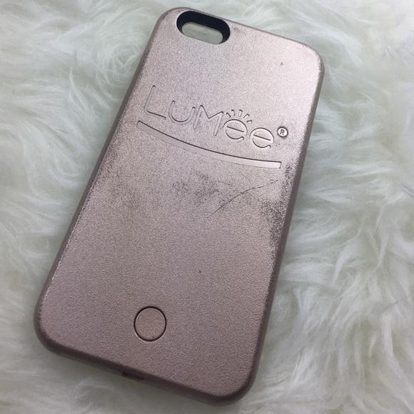 hot sales de98f b64c4 Authentic Rose Gold Lumee Case iPhone 6 Plus