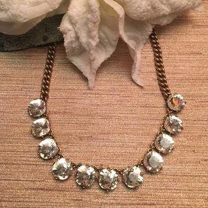 J. Crew Jewelry - J. Crew Crystal Necklace