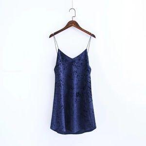 Zara Dresses & Skirts - Velvet Dress