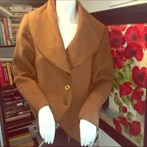 J. Jill Jackets & Blazers - Lg J Jill Brown Jacket/Coat
