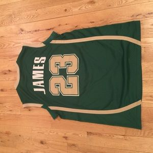 78abd88cc ... cheapest nike other 100 authentic lebron james high school jersey c6c4a  d2748