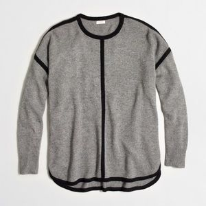 J. Crew Sweaters - ⚡️FLASH SALE⚡️J. Crew Tipped Oversized Sweater