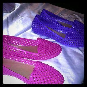 Shoes - Skidders studded flats