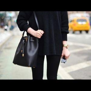 Michael Kors Handbags - •Michael Kors Collection• Miranda Bucket Bag