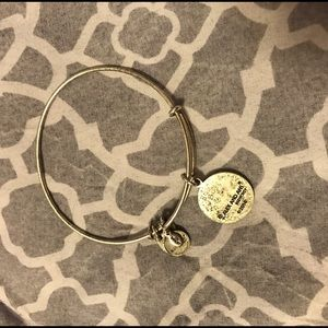 b8afbf351cfb6 What's For You Will Not Pass You Charm Bangle