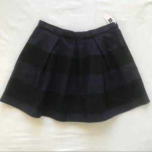 Gap Womens Size 6 Full Skirt Black Navy Blue NWT