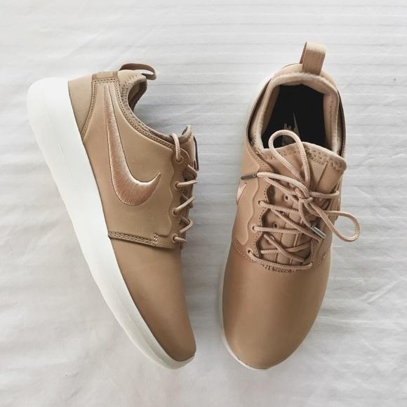 0bc85d7e72fd NikeLab Leather Roshe Two Vachetta Tan Sneakers. NWT. Nike.  M 5858a9337fab3ac14a02a4d9. M 5858a9357f0a05cfe902a383.  M 5858a93699086a8fe402a518