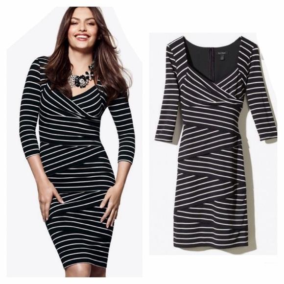 ef7ed6444b8 White House Black Market Instantly Slimming Dress