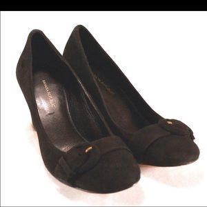 Banana Republic Shoes - BANANA REPUBLIC NWOT Black Suede Pumps Size 6