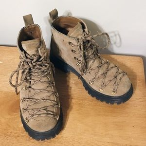 Circus by Sam Edelman Shoes - Hiking-style Lace Up Boots