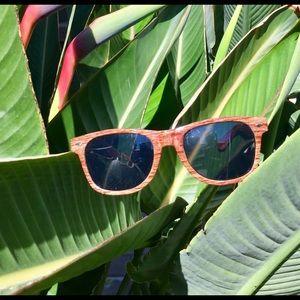 Unisex Wooden Sunglasses