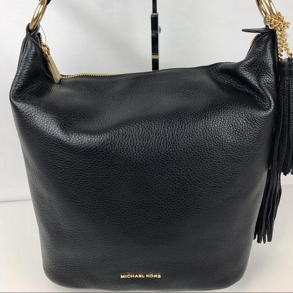 3a478af6ecc8 Michael Kors Bags | Elana Convertble Leather Shoulder Bag | Poshmark