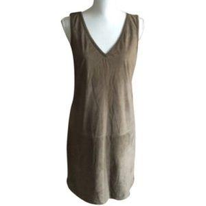 Ralph Lauren Black Label Dresses & Skirts - Ralph Lauren Black Label Suede Dress