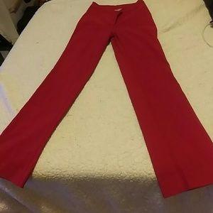 Pants - Ruby red women's  pants