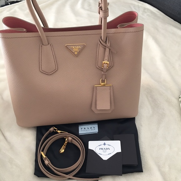 Prada Double Bag Small