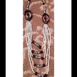 Jewelry - HANDMADE NECKLACE BY MASAI TRIBE IN KENYA.