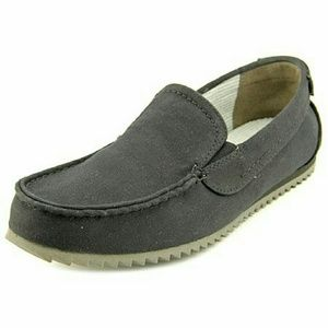 GBX Other - GBX Harpoon Mens Canvas Loafers & Slip Ons Black