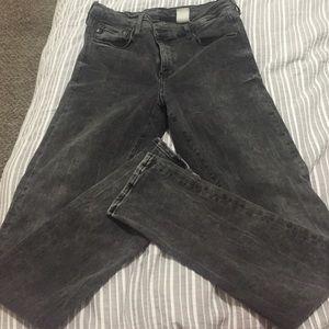 H&M Denim - Black high waisted jeans