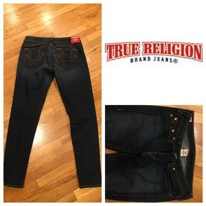 True Religion Denim - Skinny leg True Religion brand jean