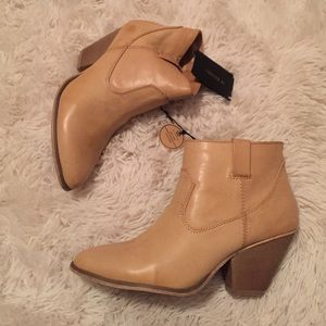 Forever 21 Shoes - Tan booties