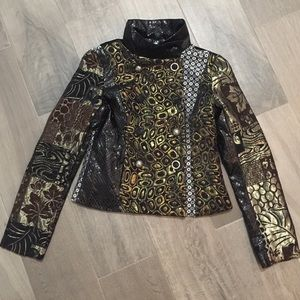 Jackets & Blazers - 🚨🛍Fashion Metallic Brocade Jacket🛍🚨