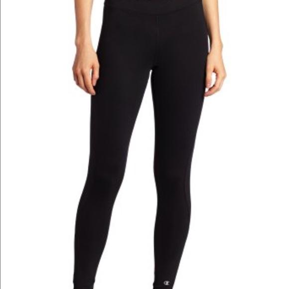 Champion Pants Jumpsuits Champion Black Xs Power Flex Right Fit Leggings Poshmark