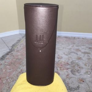 Dunhill Accessories - Dunhill Brown Glasses Case