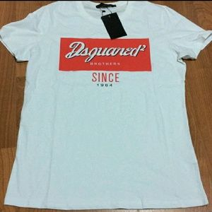 DSQUARED Other - New dsquared canada white t shirt tee short sleeve