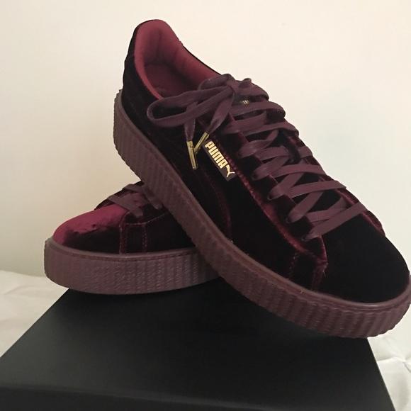 ac249805a174 PUMA FENTY by Rihanna Velvet Creeper Sneaker MEN