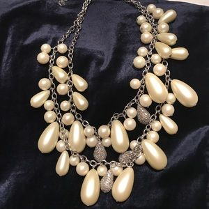Stunning double strand necklace