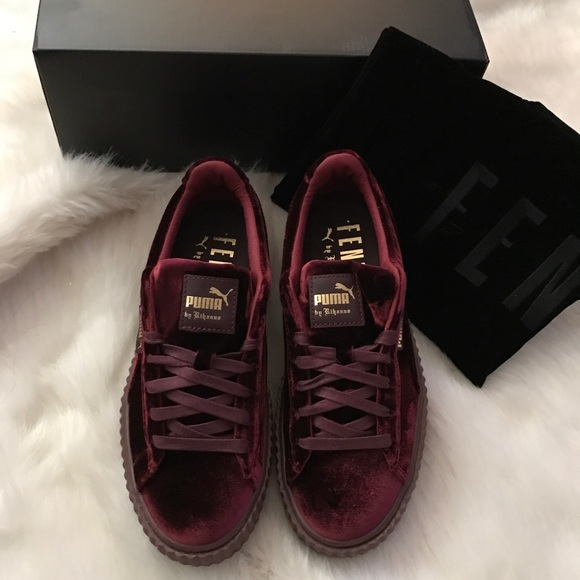 puma velvet creeper royal purple from sapphira 39 s closet on poshmark. Black Bedroom Furniture Sets. Home Design Ideas