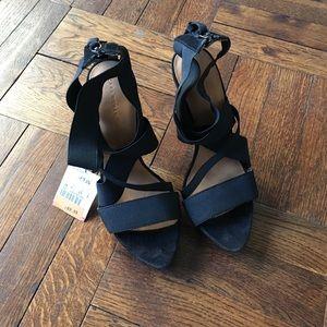 NWT!! Black Zara Sandals