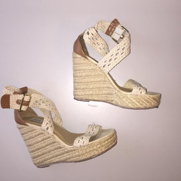 Steve Madden scarpe   Espadrilles Magestee Platform Wedge Espadrilles  7   Poshmark 325261