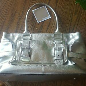 Metallic gold large Michael Kors bag