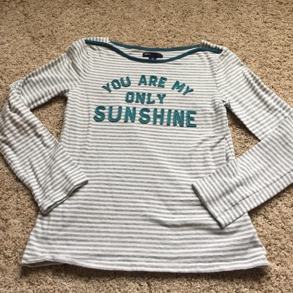 43ac29e20688 GAP Shirts & Tops | Girls You Are My Sunshine Shirt Size 12 | Poshmark
